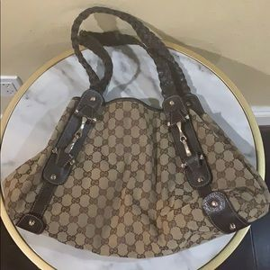 Gucci Pelham Horsebit Shoulder Bag